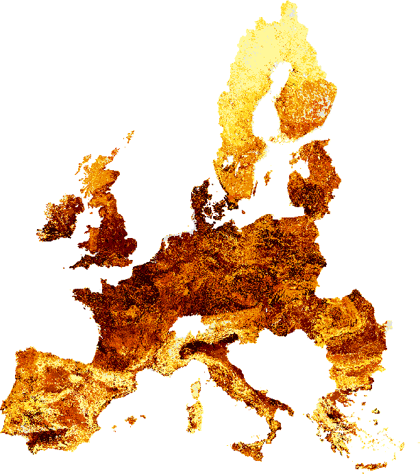 HANPP Europe 1990-2006