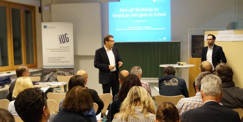 Smart Lab | Foto: aau/Leitgeb