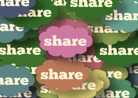 Share share share | Foto: pixabay