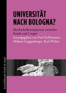 Universität nach Bologna | Buchcover