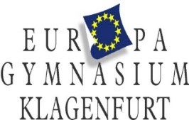 Logo Europagymnasium Klagenfurt