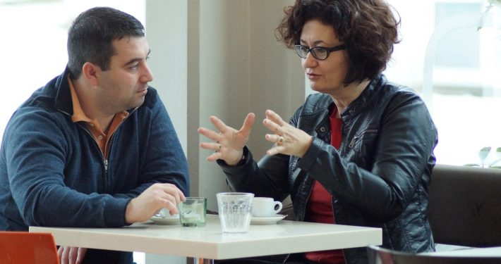 Nikola Dobric & Cristina Beretta | Foto: aau/Müller