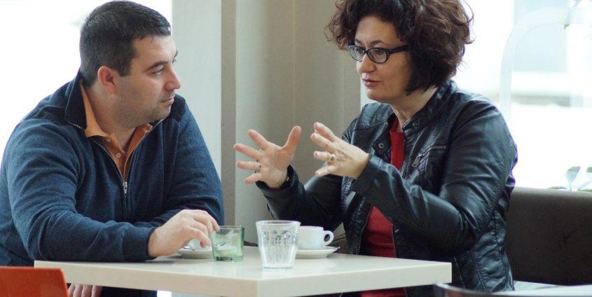 Nikola Dobric & Cristina Beretta   Foto: aau/Müller