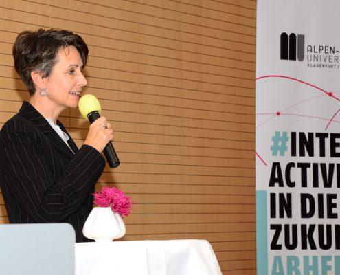 Infineon Vorstandsvorsitzende Sabine Herlitschka | Foto: aau/Daniela Weiss