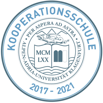 Plakette Kooperationsschule