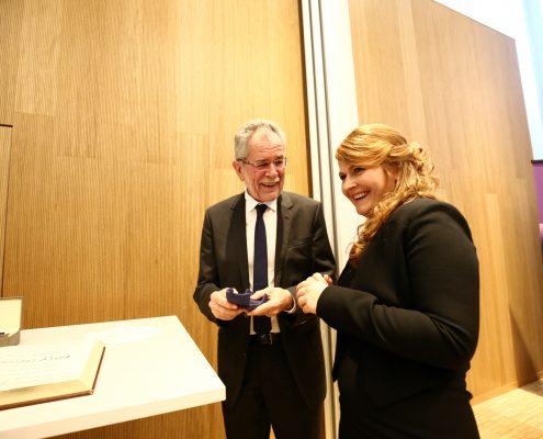 Überreichung des Ehrenrings der Republik Österreich | Foto: aau/Waschnig