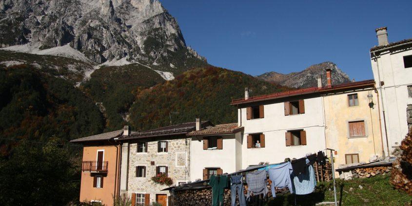 Dorf Dordolla im friulanischen Aupatal | Foto: Unikum