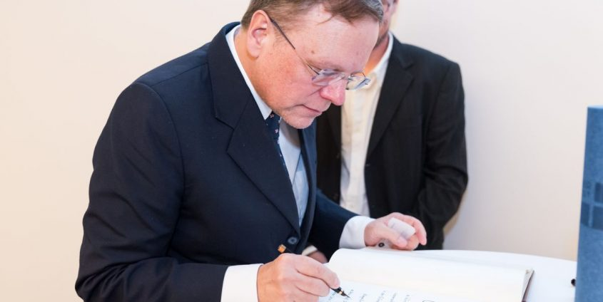 Ehrendoktor Georg Gottlob | Foto: aau/Michael Stabentheiner