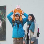 Alexander Brenner & Monika Skazedonig mit Tabea | Foto: aau/Müller