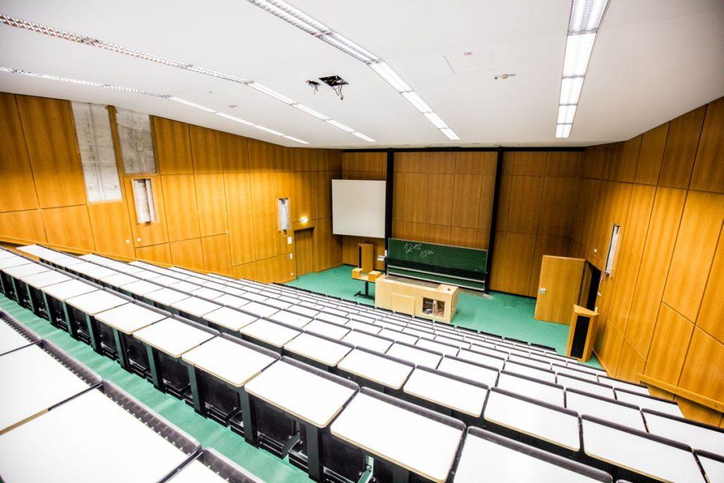 Hörsaal 4 vor dem Umbau | Foto: aau/Daniel Waschnig