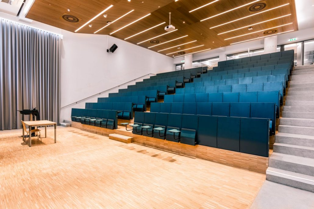 Hörsaal 4 | Foto: aau/Daniel Waschnig