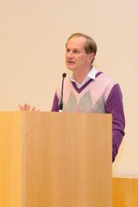 Commencement Speech von Josef Winkler bei Sponsion | Foto: Wallner