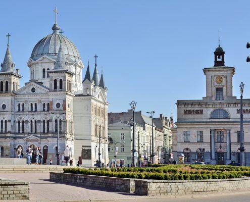 Platz Wolnoci in Lodz, Polen | Foto: whitelook/Fotolia.com