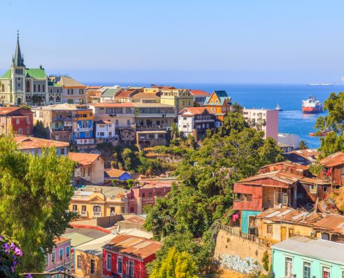 Valparaiso in Chile | Foto: lbsphotography/Fotolia.com