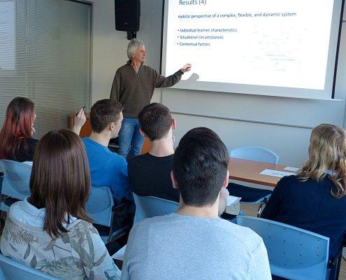 Lehrveranstaltung mit Studierenden | Foto: KK