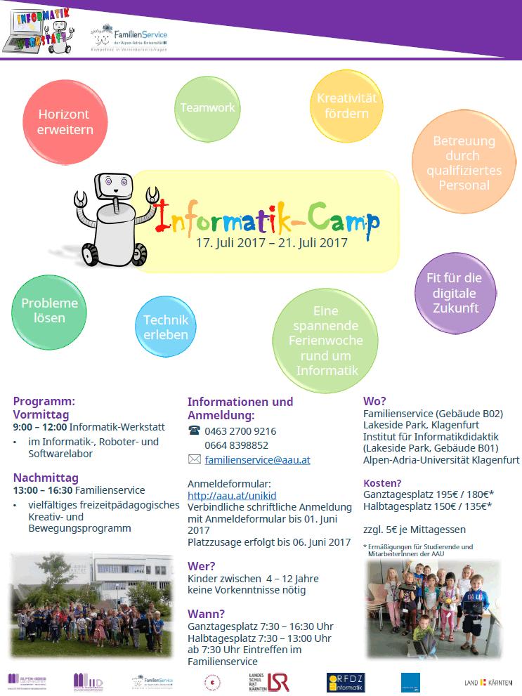Informatik-Camp 2017