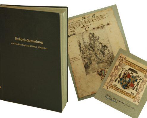 Universitätsbibliothek Klagenfurt Exlibris ES III 46451