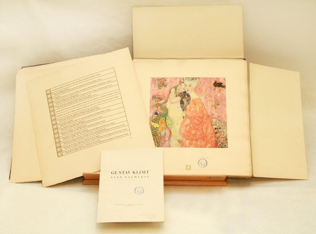 Buttinger Sammlung der Universitätsbibliothek Klagenfurt: BU IV 527449 Klimt
