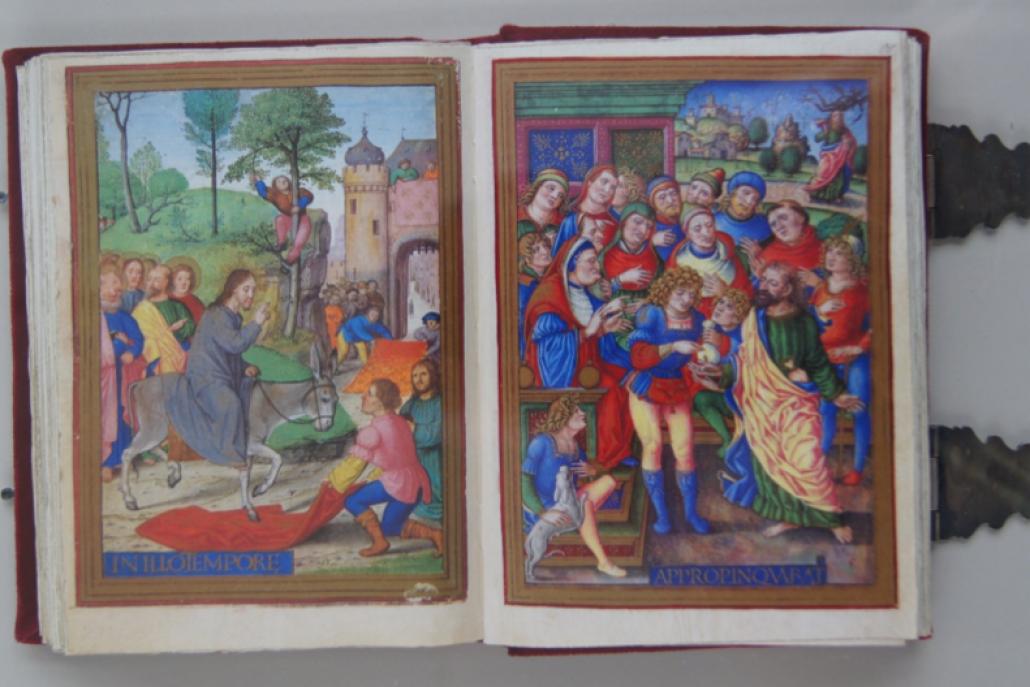 Einzug in Jerusalem und Die Bezahlung des Judas
