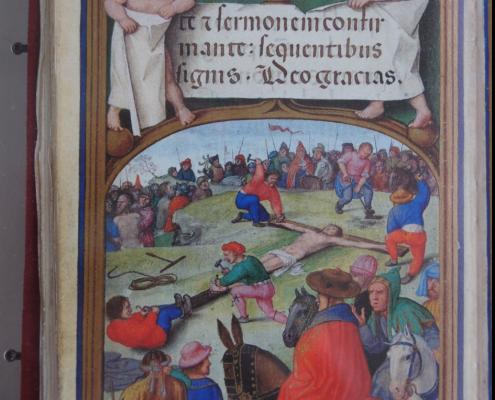 Darstellung der Kreuznagelung