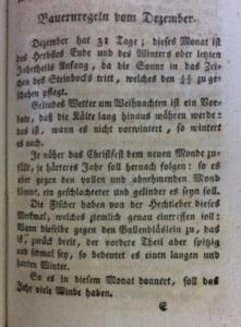 Hundertjähriger Kalender I ES 18924 Bauernregeln