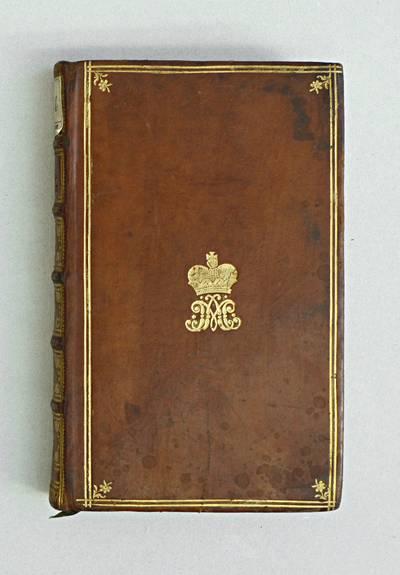 """Krone mit verschlungenem Monogramm """"AM""""Universitätsbibliothek Klagenfurt: Signatur ES I 3741"""