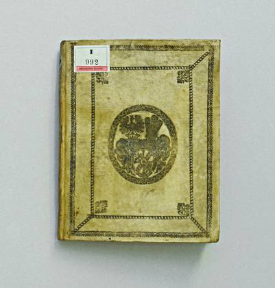 Wappen mit doppeltem Helmbusch, Universitätsbibliothek Klagenfurt: Signatur GO I 992