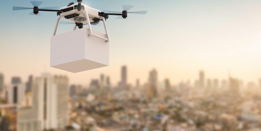 Warenauslieferung durch Drohnen | Foto: phonlamaiphoto/Fotolia.com