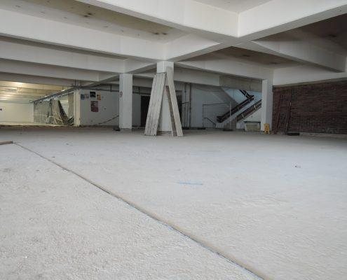 Sanierung Aula Nord August 2017 | Foto: Müller