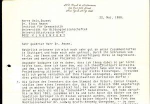 Exponat 5 Broch Brief Sohn 1 | Foto: Bem