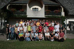 Gruppenfoto vor dem Infocenter in Trenta | Foto: Štefan Pinter