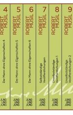 Bucheinband von Robert Musil Gesamtausgabe Band 4 bis Band 9