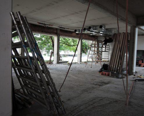 Sanierung Omansaal August 2017 | Foto: aau/Müller