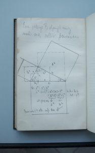 Exponat 5 Broch Schopenhauer Kommentar Pythagoräischer Lehrsatz | Foto: Bem