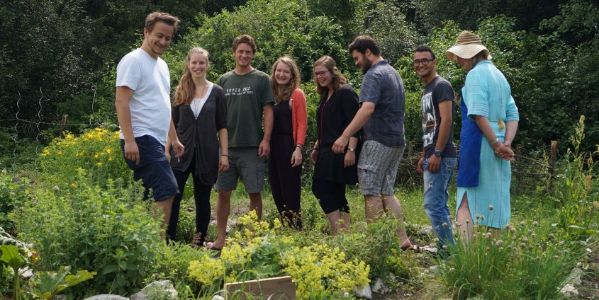 ÖH-Unigarten mit Studierenden | Foto: aau/Barbara Maier