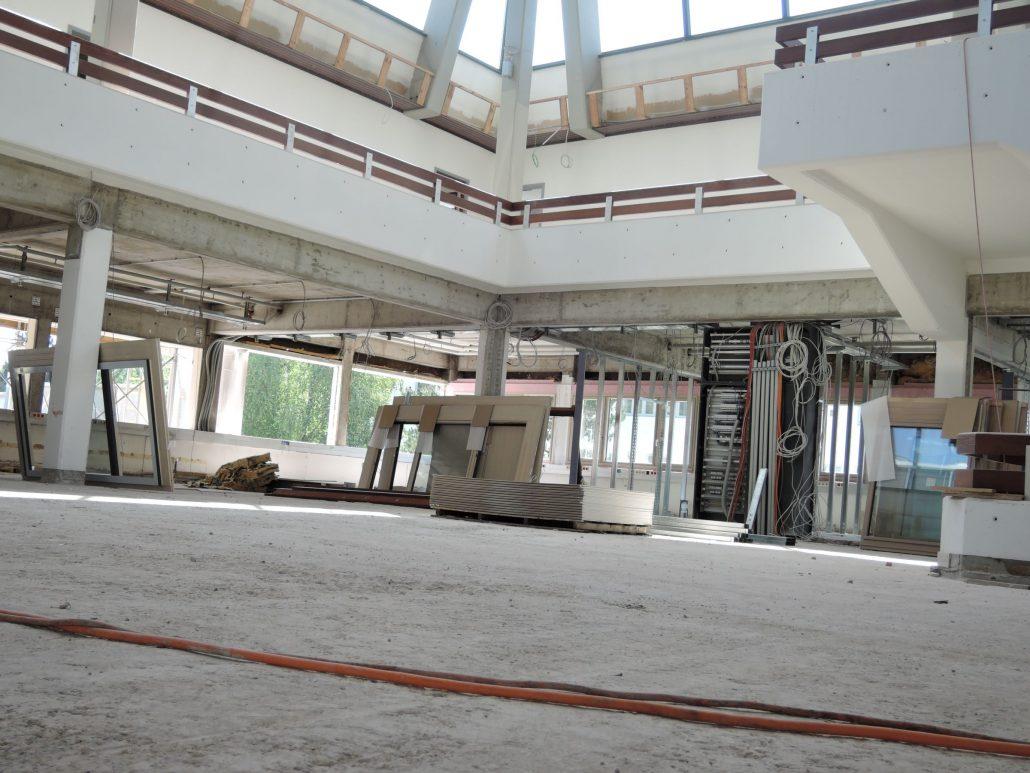 Generalsanieurng Abbruch Foyer und Studienabteilung | Foto: aau/Romy Müller