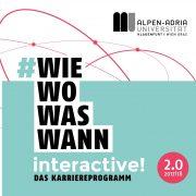 Cover Karriereprogramm interactive! Programm 2017