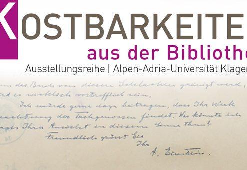 Sujet Kostbarkeiten und Einstein | Fotomontage: aau/Bem