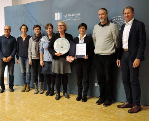 Titelverleihung Kooperationsschule der AAU an die Waldorfschule Klagenfurt | Foto: aau/Romy Müller