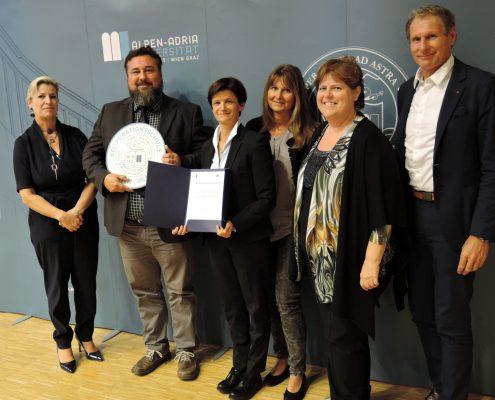 Titelverleihung Kooperationsschule der AAU an das Ingeborg-Bachmann-Gymnasium | Foto: aau/Romy Müller
