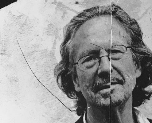 Peter Handke | Kratzung von Marko Lipus / Foto aau/Robert-Musil-Archiv_Ausschnitt