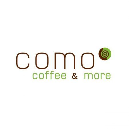 Logo Como - coffee and more
