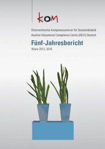 Cover AECC Fünf-Jahresbericht Bilanz 2012–2016