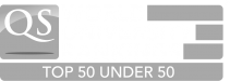 Logo QS Top 50 Under 50 Universities