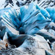 Svínafellsjökull Glacier in Island aus dem Film Chasing Ice | Foto: James Balog