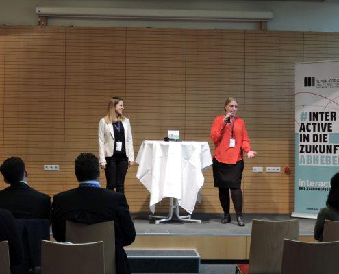Karriereprogramm interactive! Studierenden-Teams stellen sich vor   Foto: aau/LK