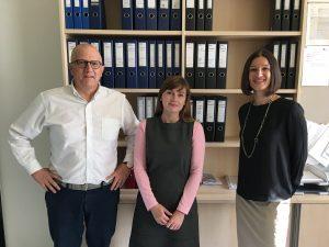 prof. Paolo Rondo-Brovetto, PhD student Olga Trunova and dr. Sanja Korac, picture: Rondo-Brovetto P.