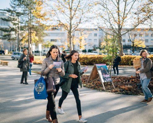 Freshmen Day 2017: Kennenlernen der AAU | Foto: aau/ Christina Supanz