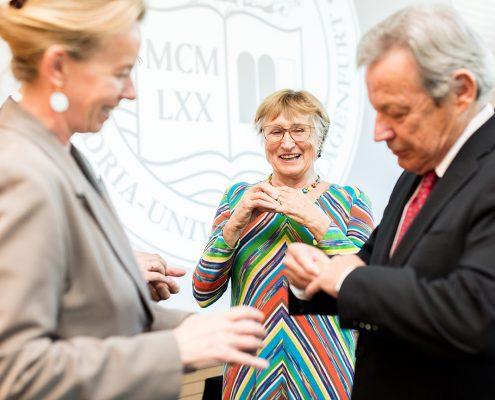 L. Krainer, M. Fischer-Kowalski & N. Frei | Foto: aau/Waschnig