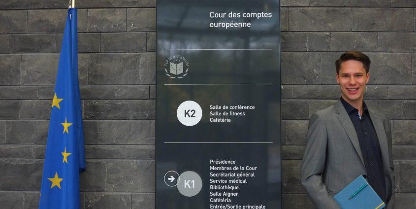 Rene Reiterer beim Europäischen Rechnungshof